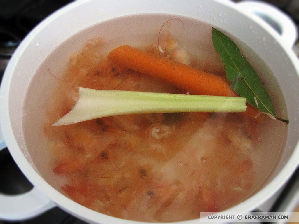 Risotto alla zucca mantecato con gorgonzola e gamberi croccanti