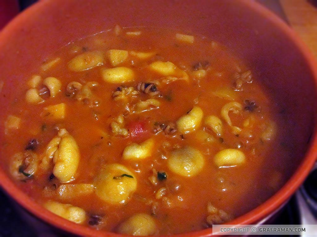 Seppioline con patate in umido