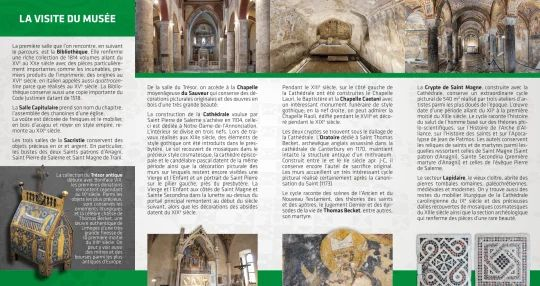 Brochure in francese - Retro