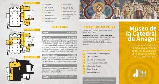 Brochure in spagnolo - Fronte