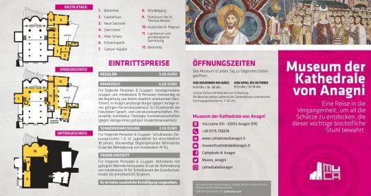 Brochure in tedesco - Fronte