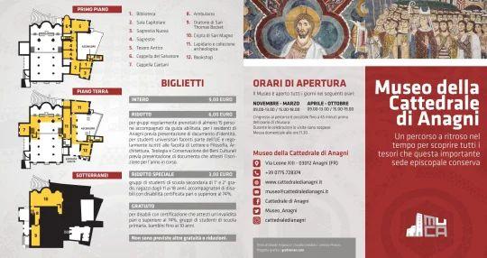 Brochure in italiano - Fronte