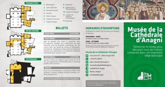 Brochure in francese- Fronte