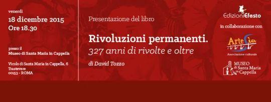 Cover per la pagina Facebook dell'evento