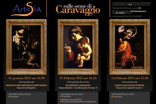 Locandina visita organizzata dall'Associazione Culturale Artesìa di Roma