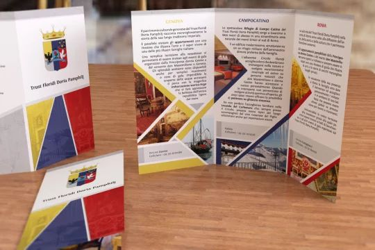 Ricostruzione 3D della brochure