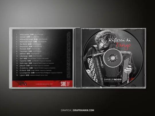 Interno cofanetto CD