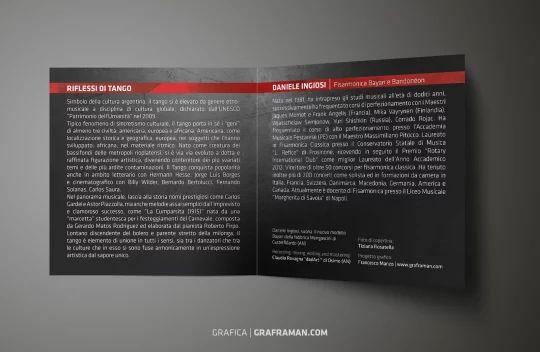 Interno del booklet presente nel CD