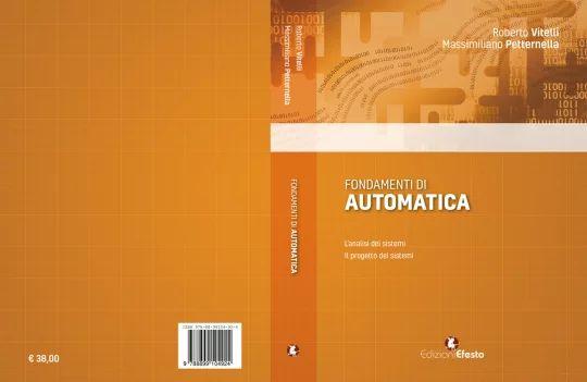 """Copertina del libro """"Fondamenti di Automatica"""""""