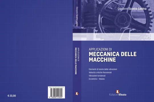 """Copertina del libro """"Applicazioni di Meccanica delle macchine"""""""