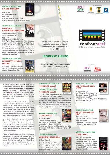 Brochure I Edizione del progetto Confrontarci