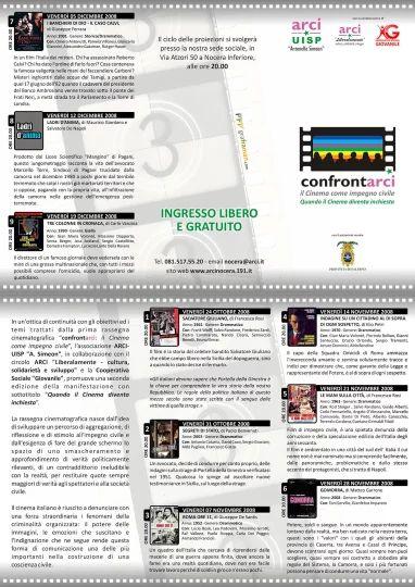 Brochure II Edizione del progetto Confrontarci