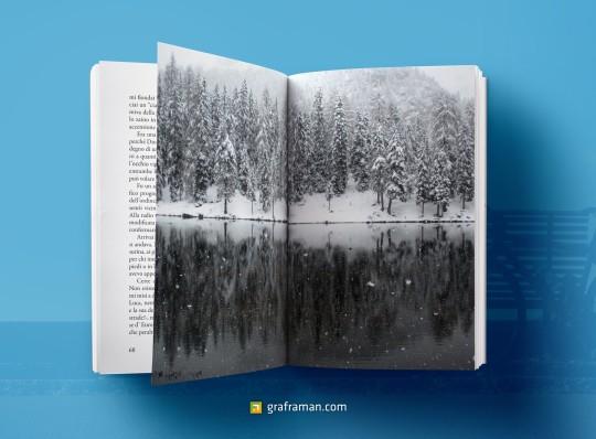 Mockup interno del libro
