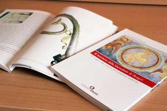 Foto del libro stampato