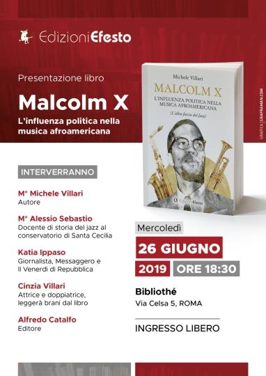 Locandina evento di presentazione libro
