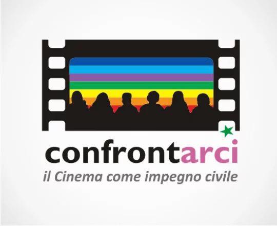 Logo rassegna cinematografica Confrontarci: il Cinema come impegno civile