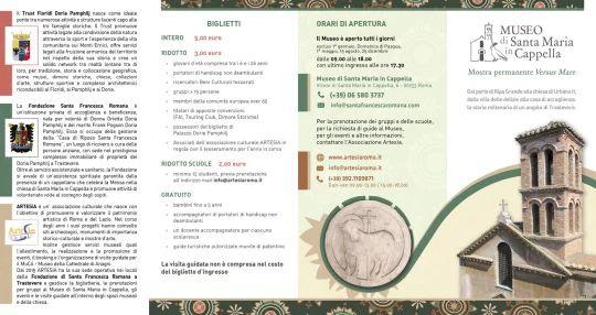 Brochure 4 ante, FRONTE