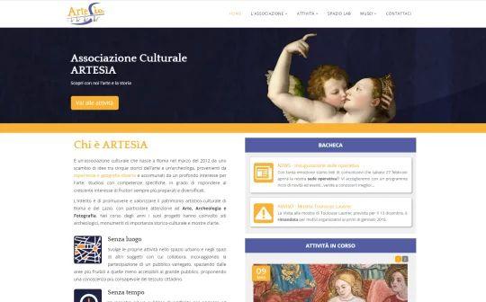 Home page del sito