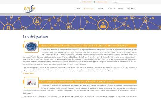 Pagina dei partner