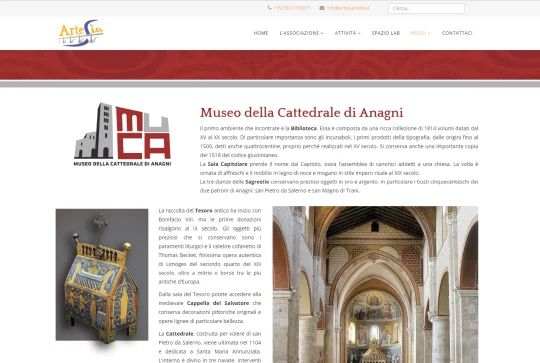 Pagina Museo Cattedrale di Anagni
