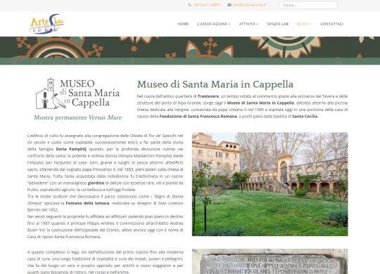 Pagina del Museo di Santa Maria in Cappella