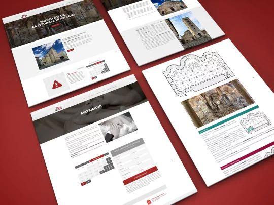 Alcune pagine del sito