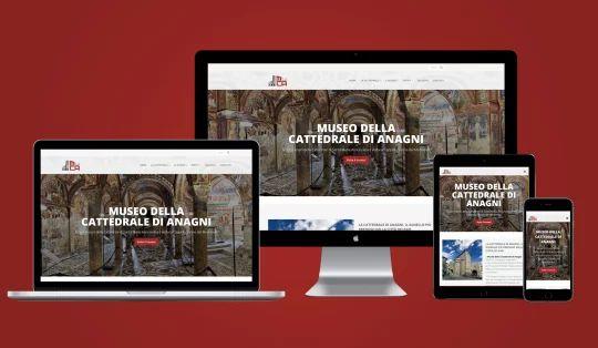 La Homepage vista su dispositivi diversi