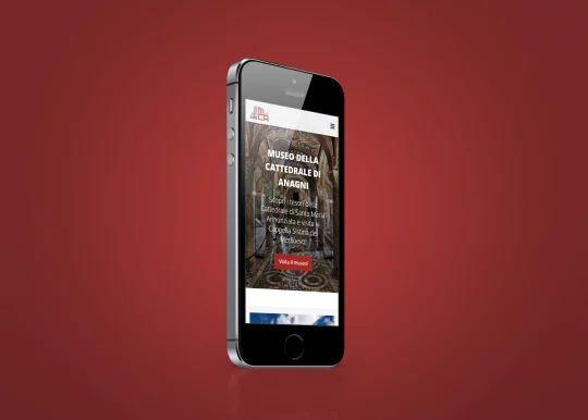 L'homepage su dispositivi mobili
